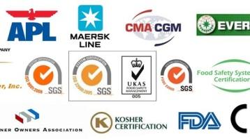 <P ALIGN=center> Certificados y Aprobaciones <P ALIGN=center/>