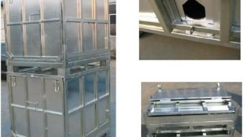 Acero Bulk Container 1000 litros (IBC)