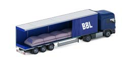 BBL Trailer-flexitank for trucks