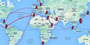 transporte-maritimo-rutas-maritimas en flexitank